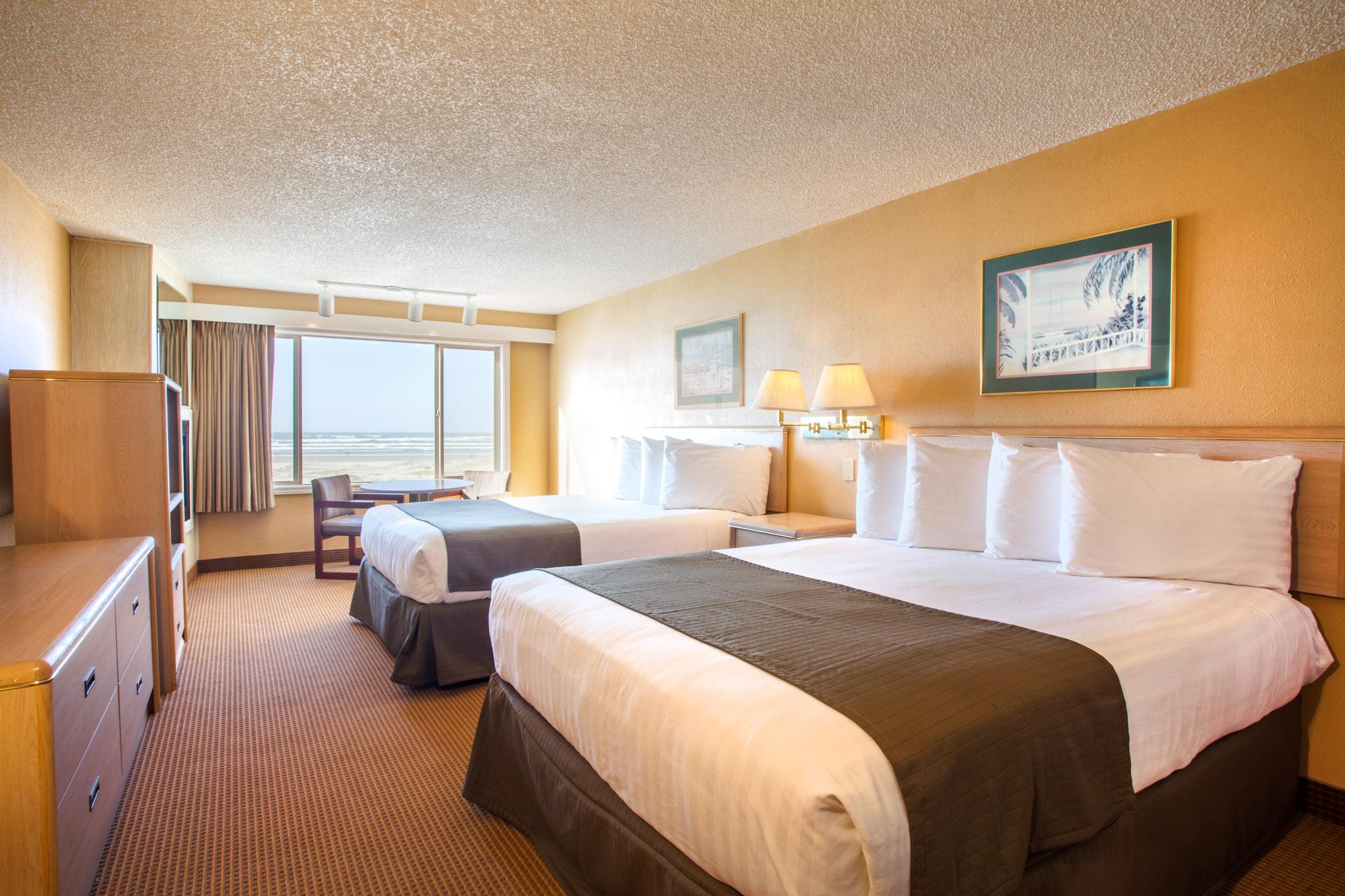 Seaside Hotel Ebb Tide Resort Guest Rooms Oceanfront